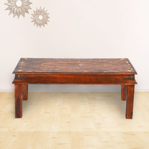 Moorni Wooden Coffee Table - MBX-76