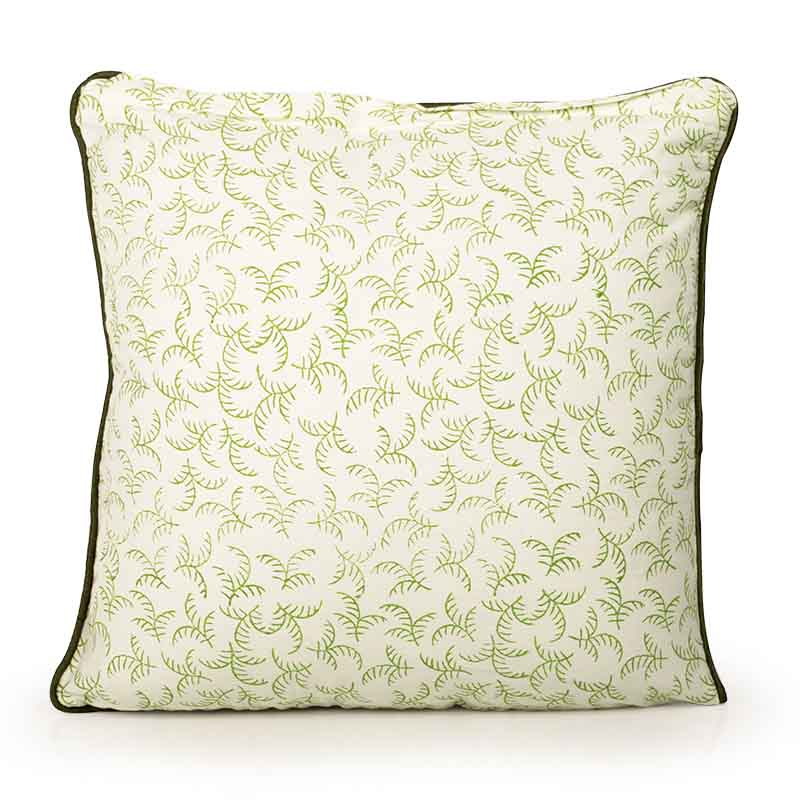 Moorni Hand Block Printing Cushion Cover in Cotton (Both Sides) Set Of 6 - EL-026-327