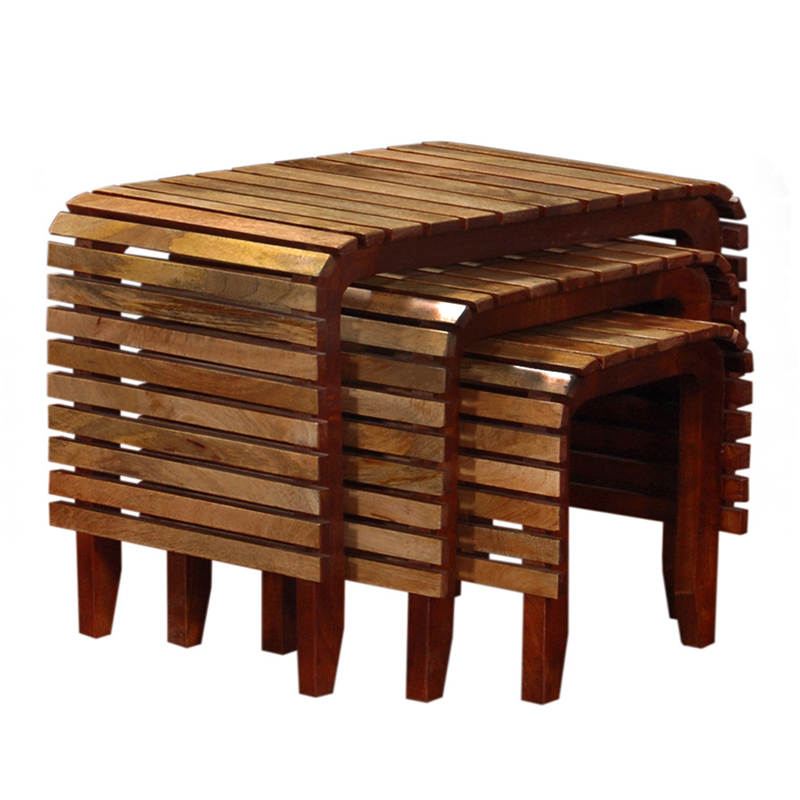 Glow Homes Stool Set 3 - HNST04