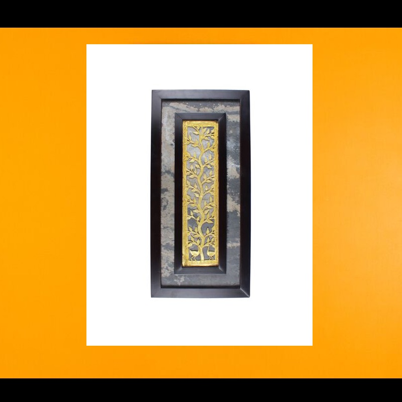 Amalgamated Dhokra and Stone Wall Hanging