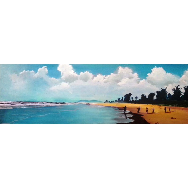 Fishing Acrylic Wall Art 50cm x 130cm