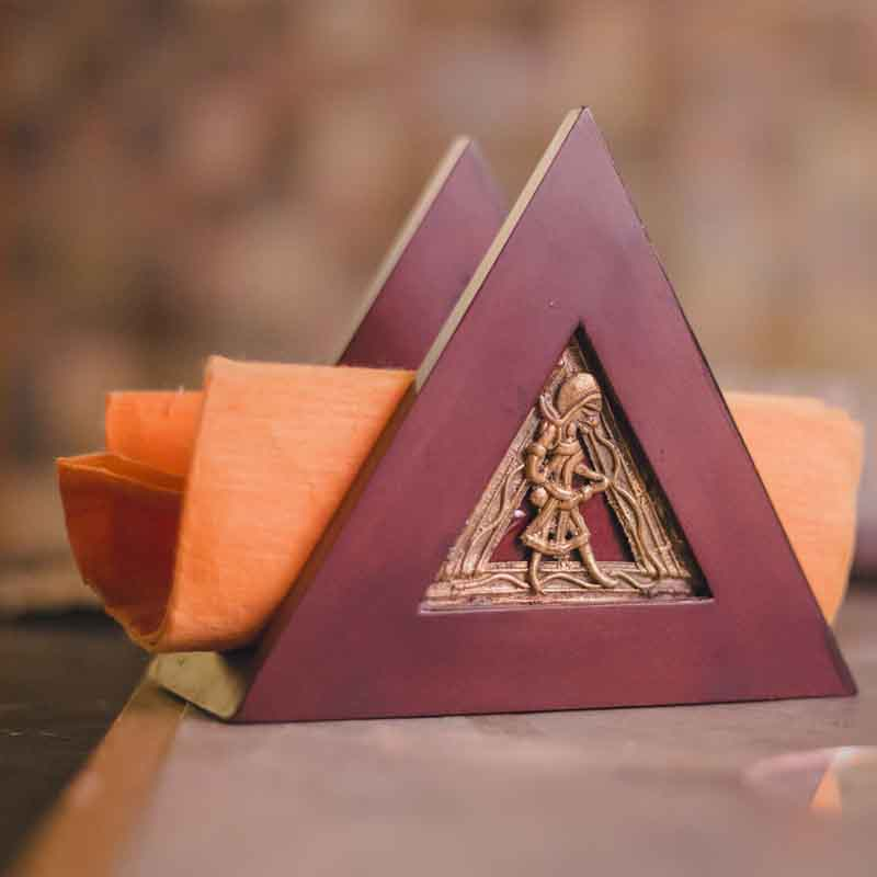 Olha-o Tribe Triangle Napkin Holder