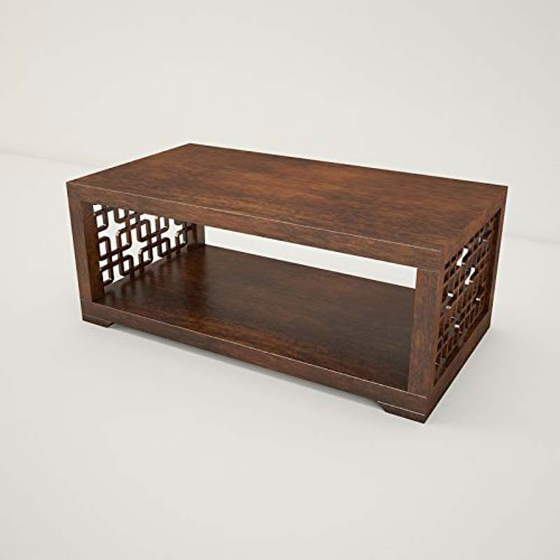 Samaira Craft Solid Wood Coffee Table - SHCT0075 - AM15