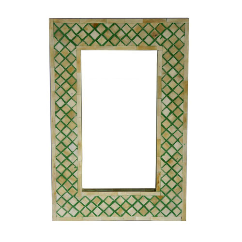 Moorni Real Wood Decorative Mirror Frame - MBX-22