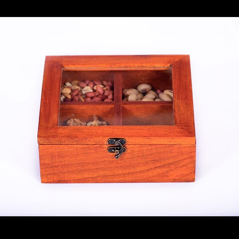 Spice Box With Four Compartments