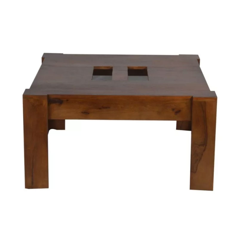 Navi Art Wooden Coffee Table Brown - MBX-67