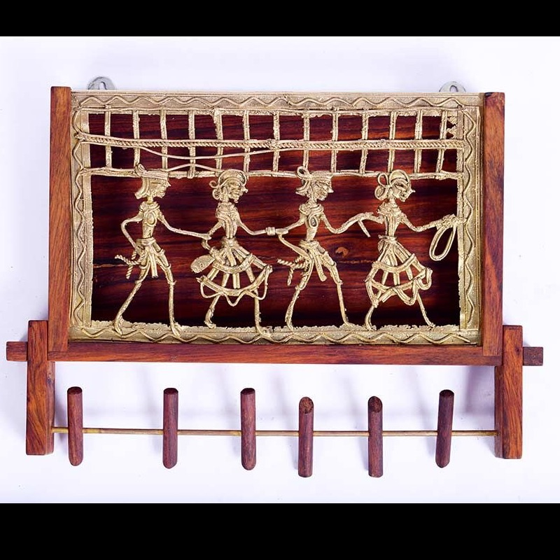 Key Hanger In Dhokra Work