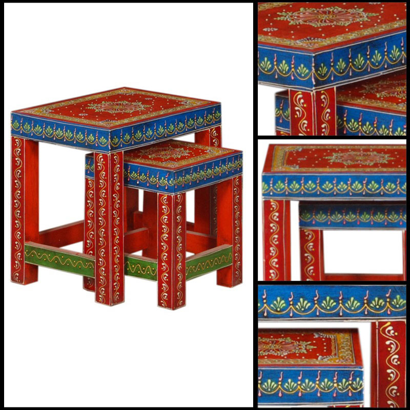 Glow Homes Stool Set 2 - HNST08