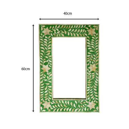 Moorni Real Wood Decorative Mirror Frame - MBX-23