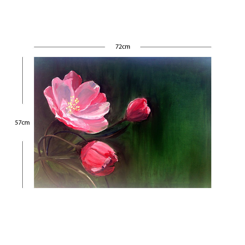 Momma N Kids (Nature - Flower) Wall Art (57x 72cm)