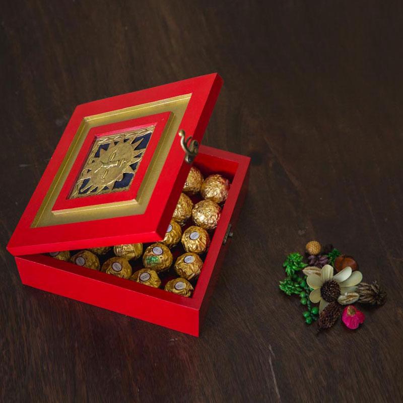 Olha-o Tribe Dry Fruit Box Surya Jaali
