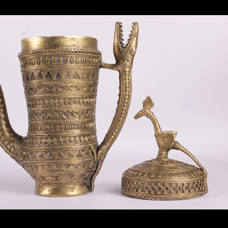 Dhokra Work Ornamental Jug