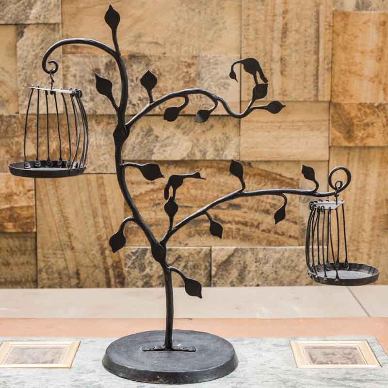 Olha-o Tribe Tree with Diya Hangings
