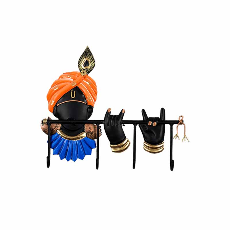 Handikart Lord Krishna Playing Flute Key Holder