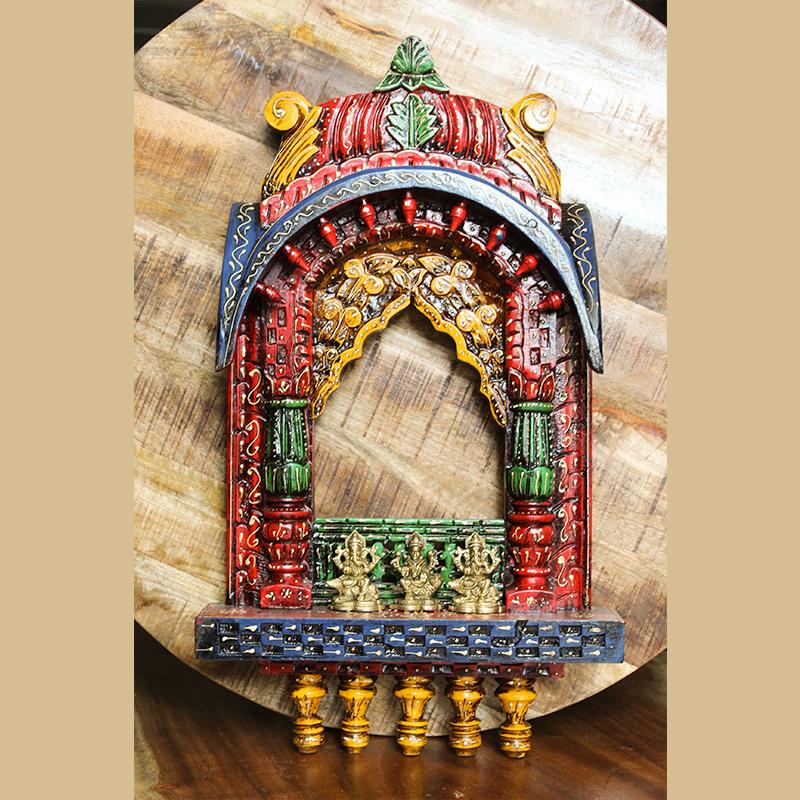 Moorni Wall Mount Hanging Temple (Frame)
