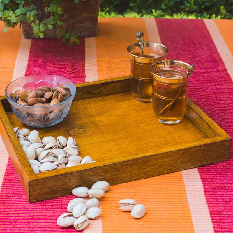 Olha-o Tribe Bed Side Table Tray