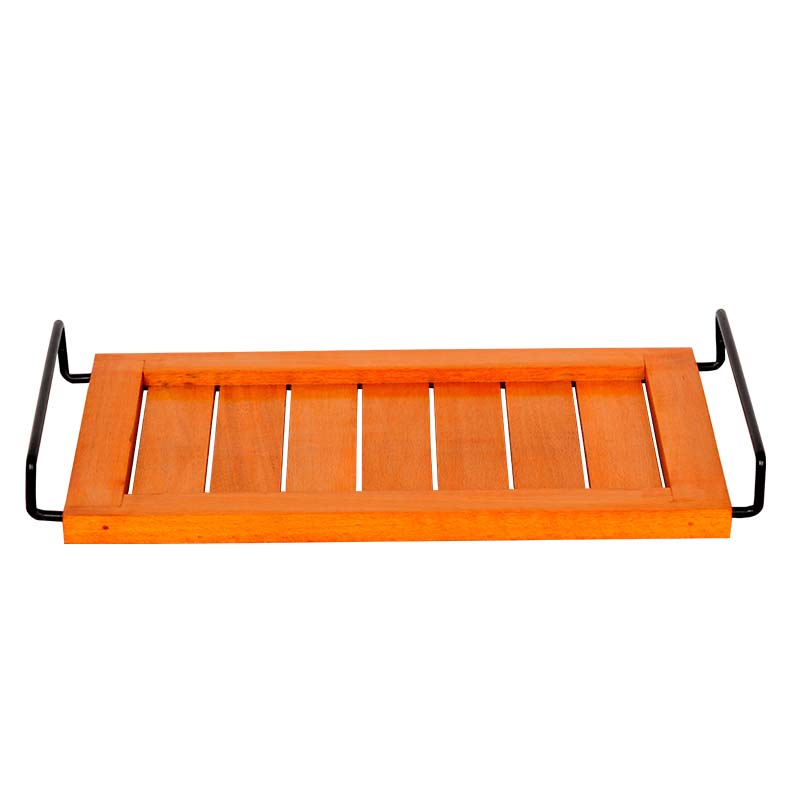 Moorni Bright Orange Serving Tray