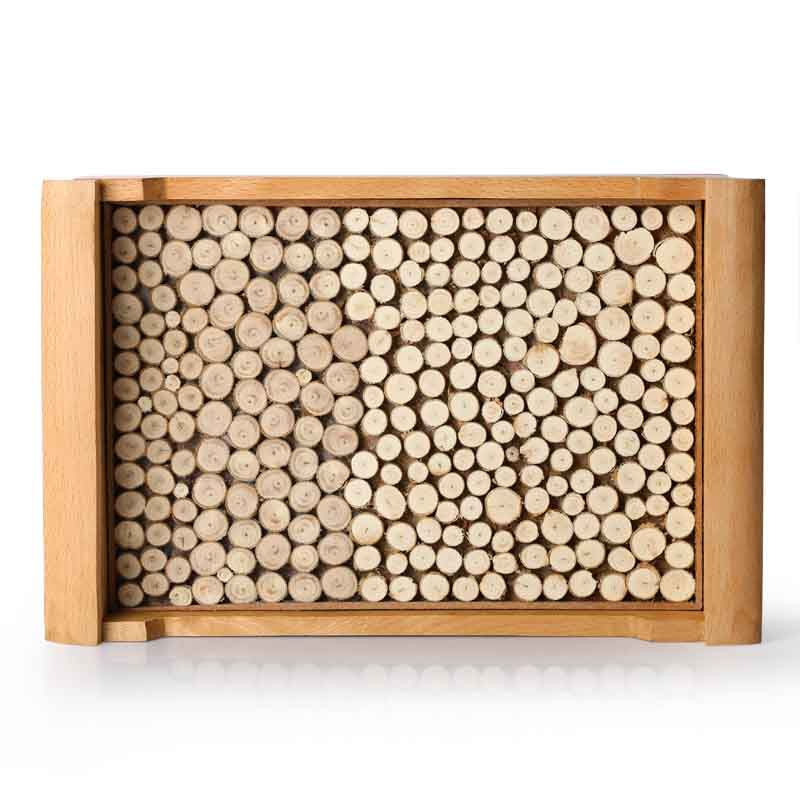 Moorni Wooden Cut Pieces Serving Tray