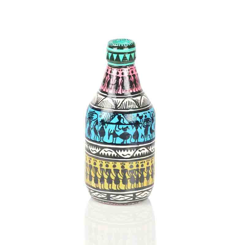 Moorni  Set Of 3 Decorative Vases In Bottle Shaped