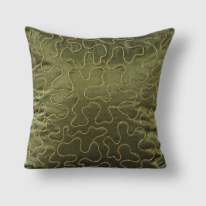 Moorni Pure Silk Cushion Covers - Set of 6 - EL-026-107