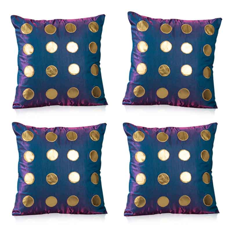 Moorni Pure Silk Cushion Covers - Set of 4 - EL-026-154
