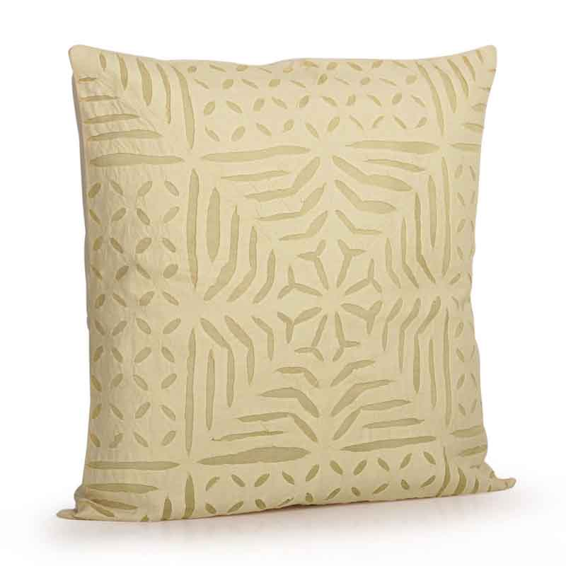 Moorni Applique Art Cushion Cover in Soft Cotton - Set of 2 - EL-026-189