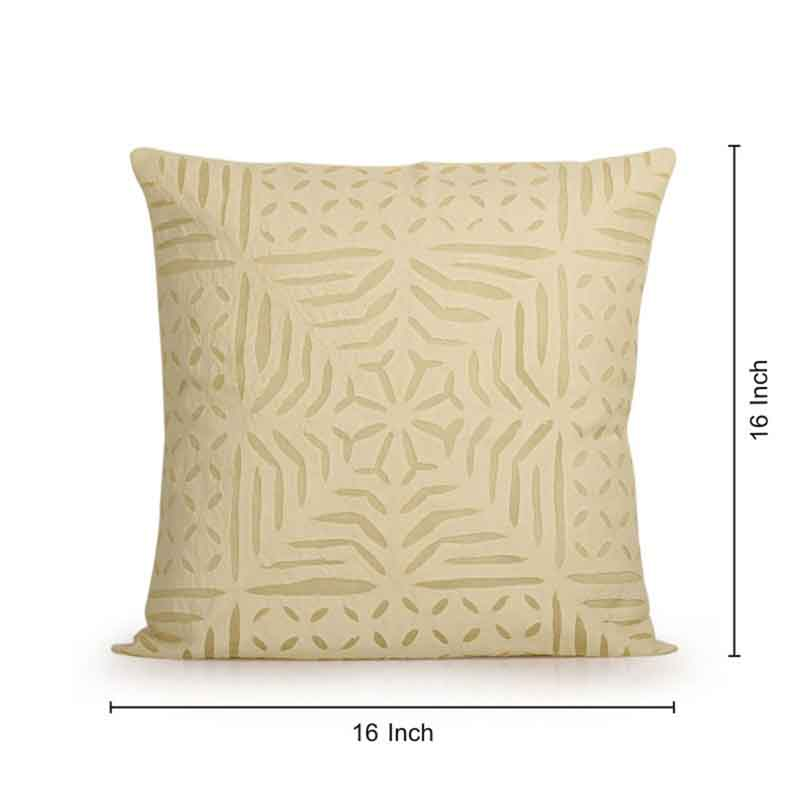 Moorni Applique Art Cushion Cover in Soft Cotton - Set of 6 - EL-026-254