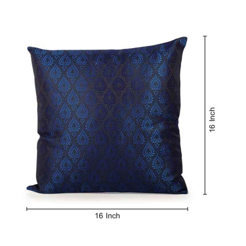 Moorni Handwoven Cushion Cover in Silk - Set of 5 - EL-026-309