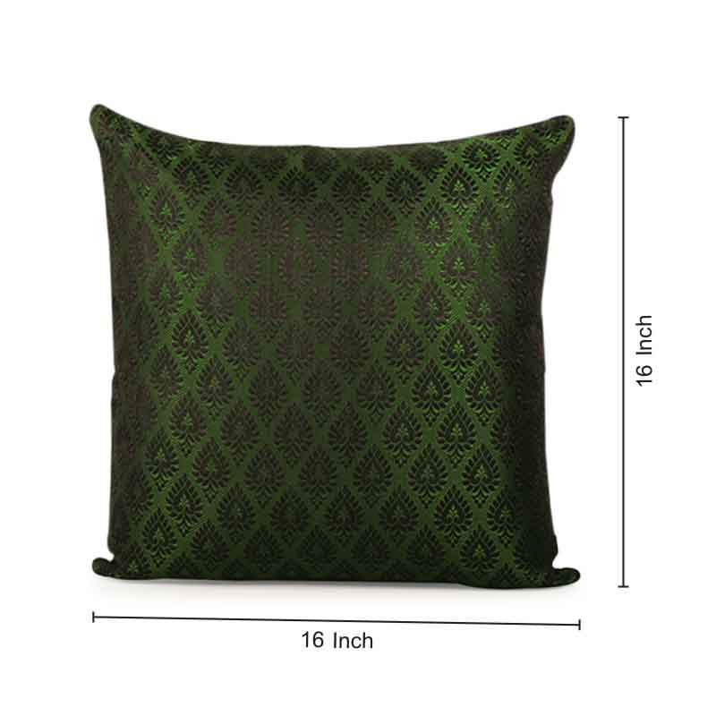 Moorni Handwoven Cushion Cover in Silk - Set of 5 - EL-026-314