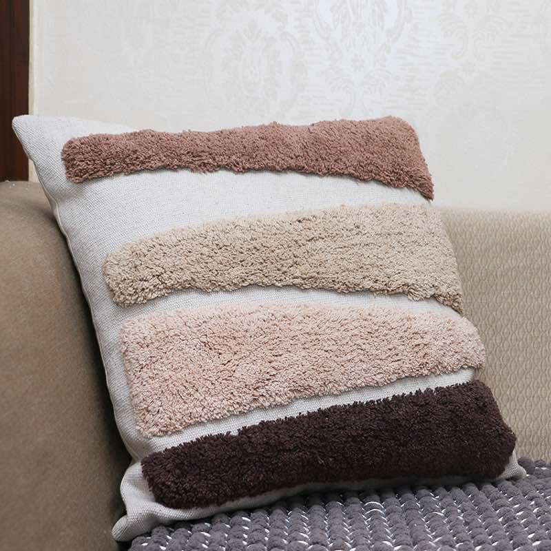 Moorni Cotton Tufted Cushion -TT-3403