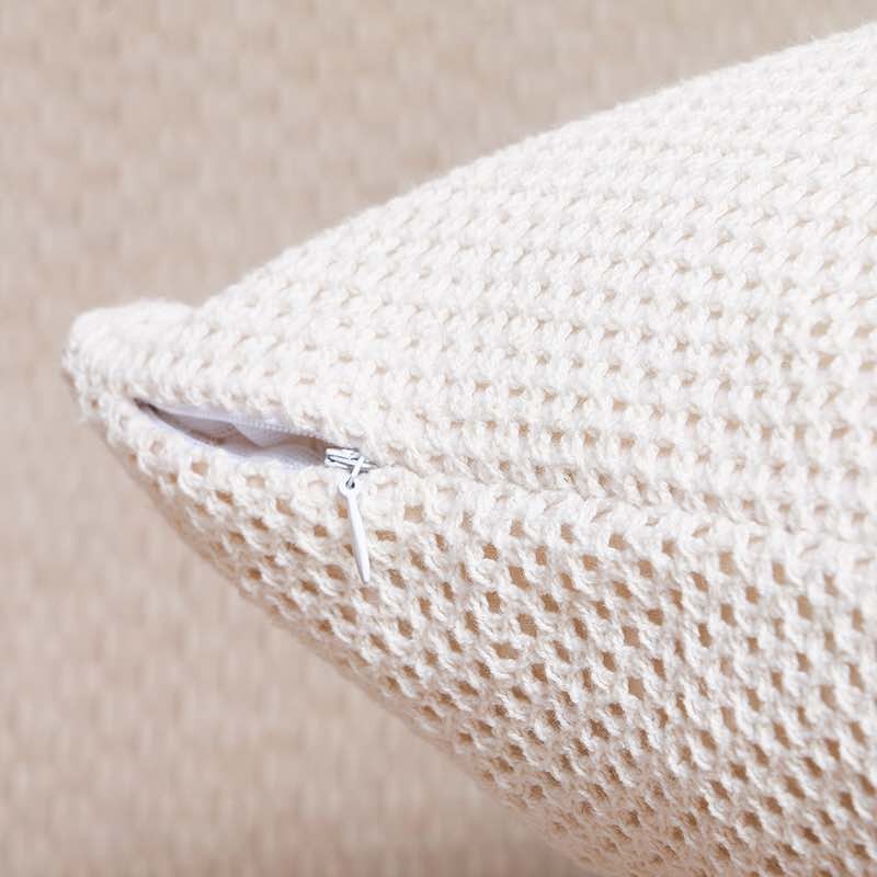 Moorni Cotton Knitted Cushion -TT-3628