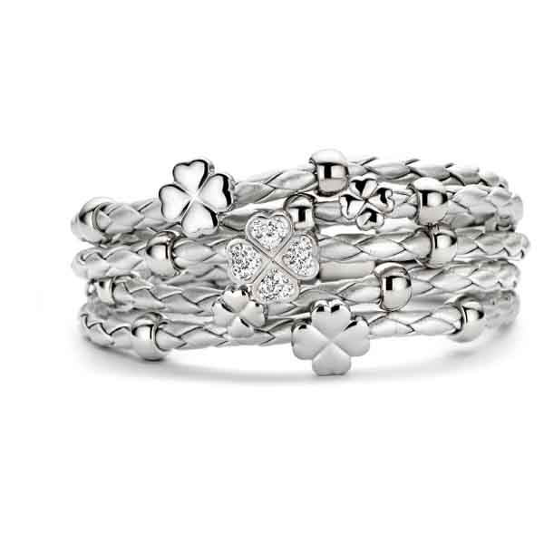 New Bling Women Silver Bracelet 1087