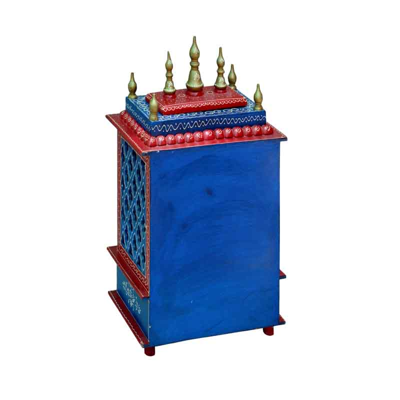 Glow Homes Hand Painted Wooden  Temple se-77a